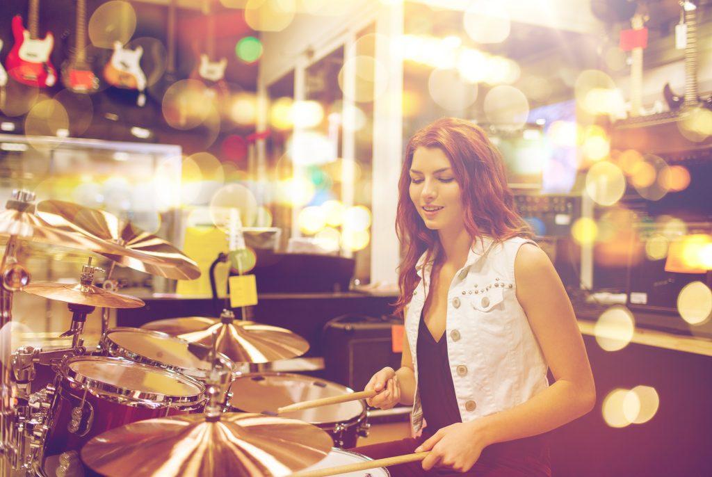 Female Drummer