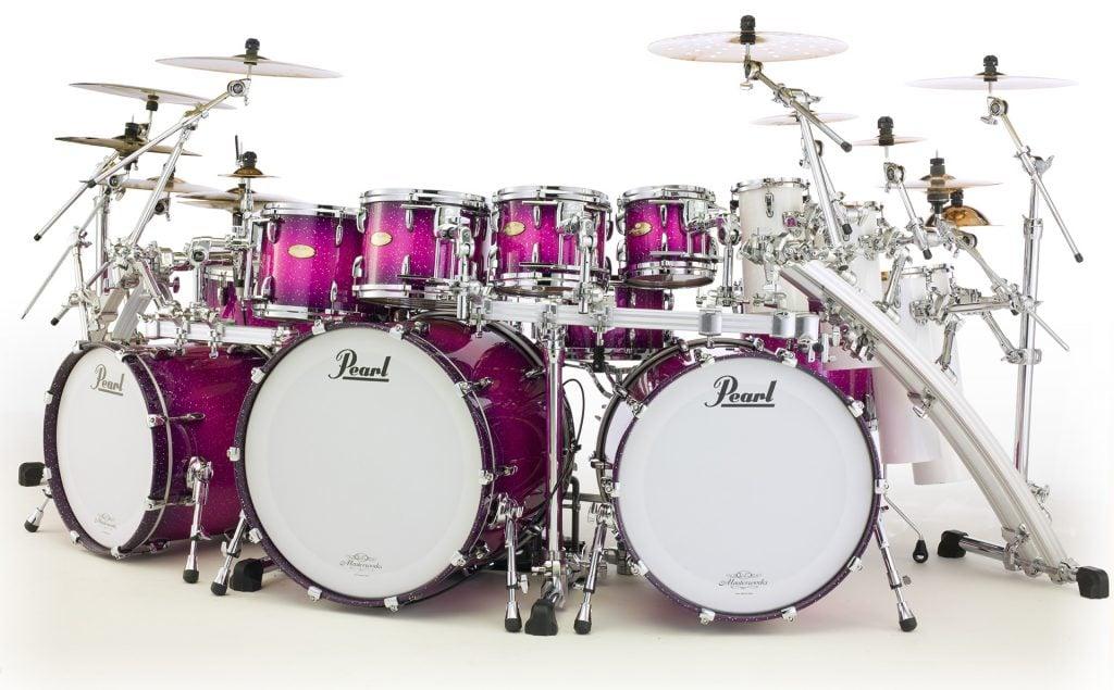pearl masterworks drum set