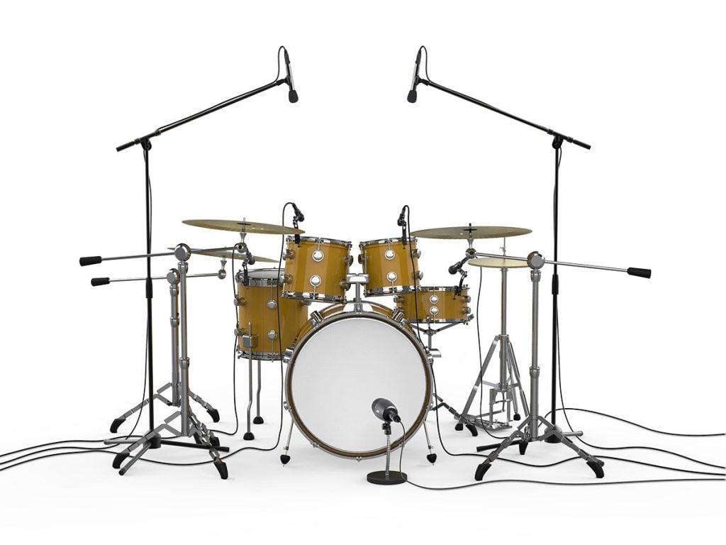 7 piece drum mic setup
