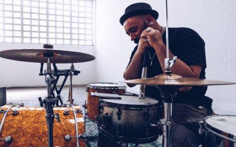 drumming routine