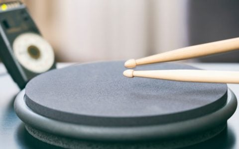 drumming to click track