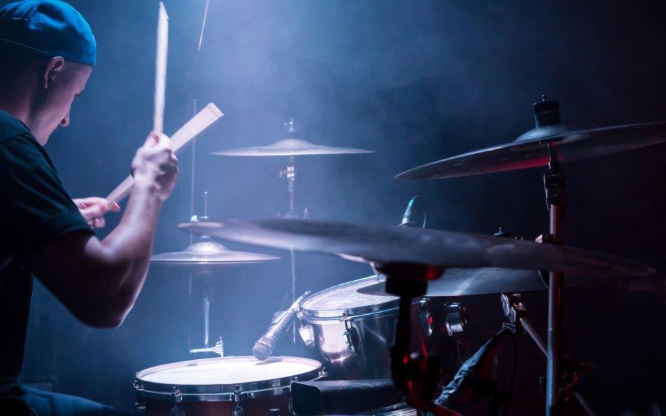 drummer practicing