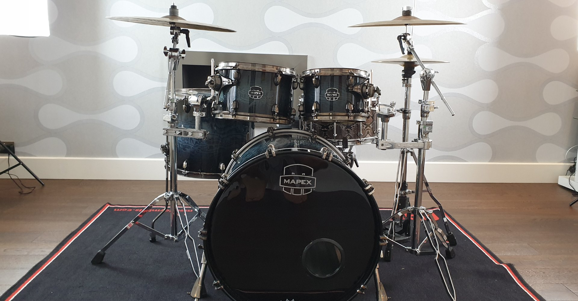 complete drum set