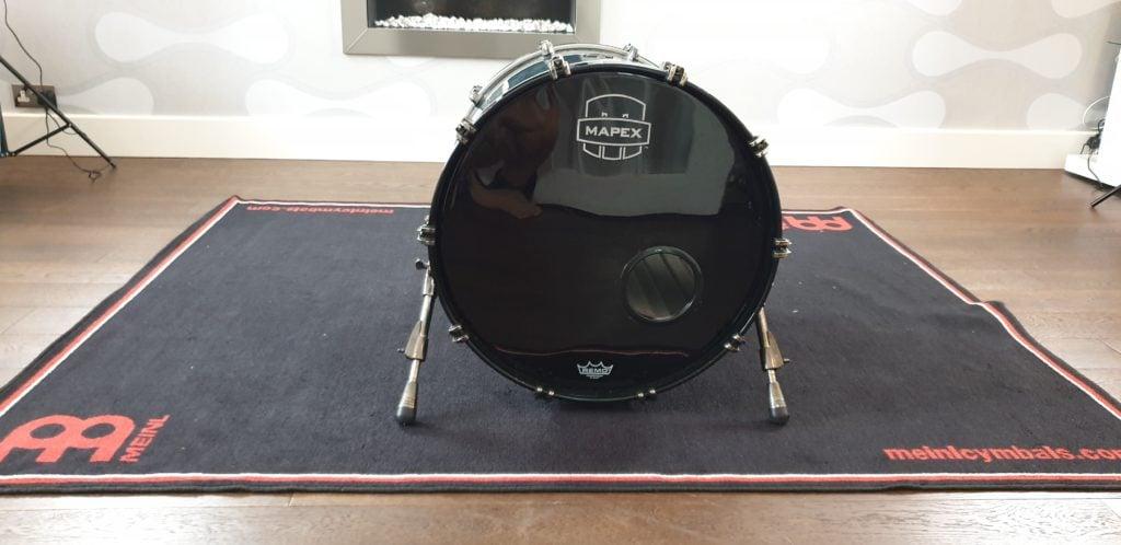 kick drum set up