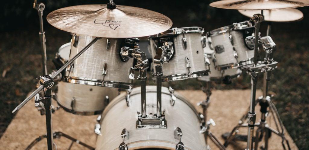 drilled bass drum