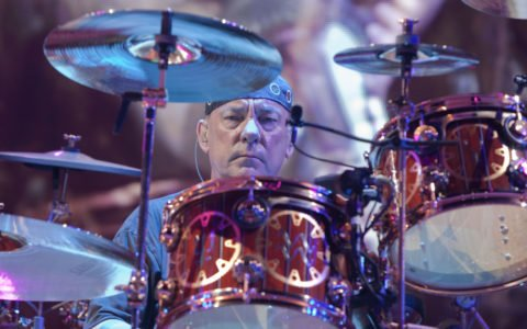 Neil Peart Performing Live