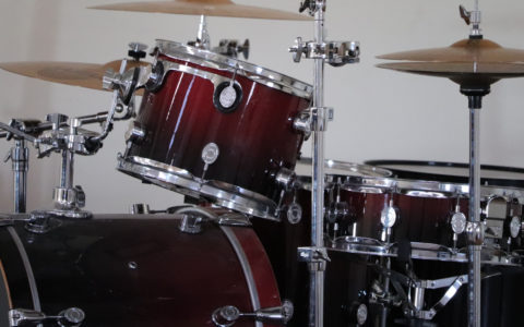 cheap drum set