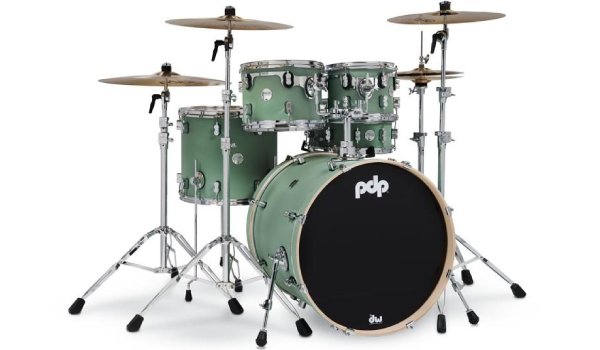 PDP Seafoam Drum Set