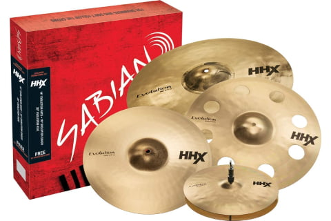 Sabian HHX Evolution Promotional Cymbal Set