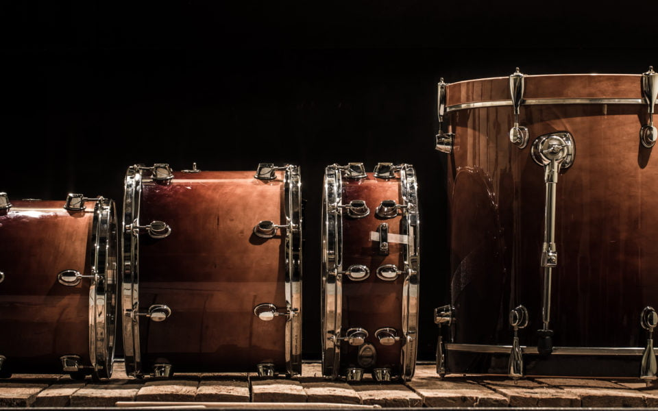 different types of drums