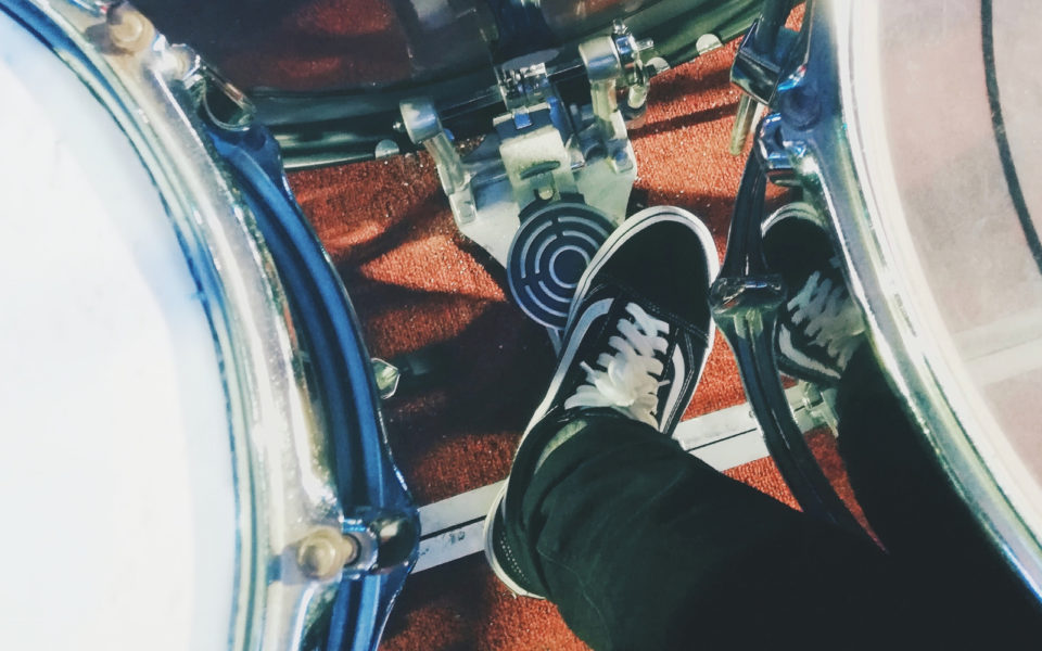 Drumming shoes