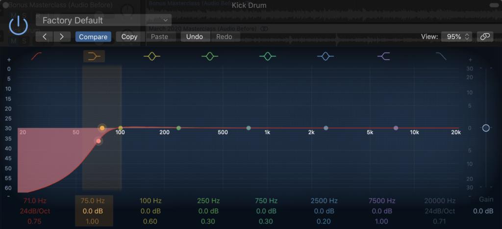 Kick Drum EQ 8