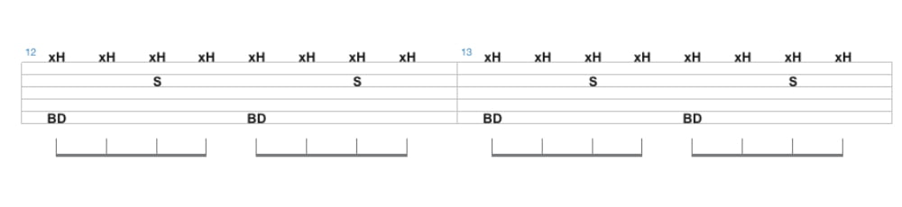 songsterr drum tab