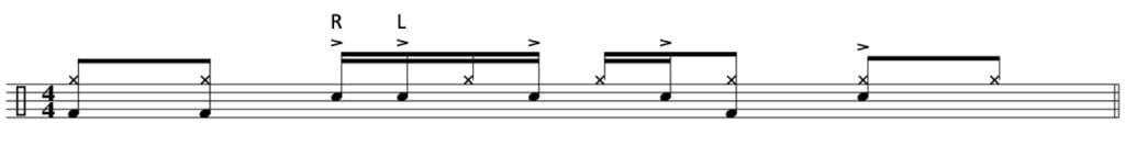 Funk drum beat 3