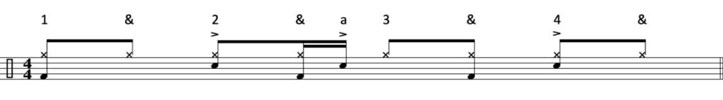 Funk drum beat 7