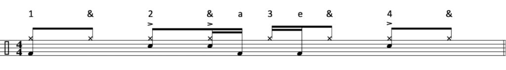 Funk drum beat 10