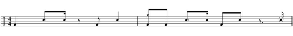 hip hop drum beat context