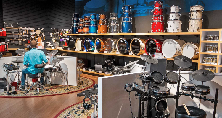 Sweetwater music store drums