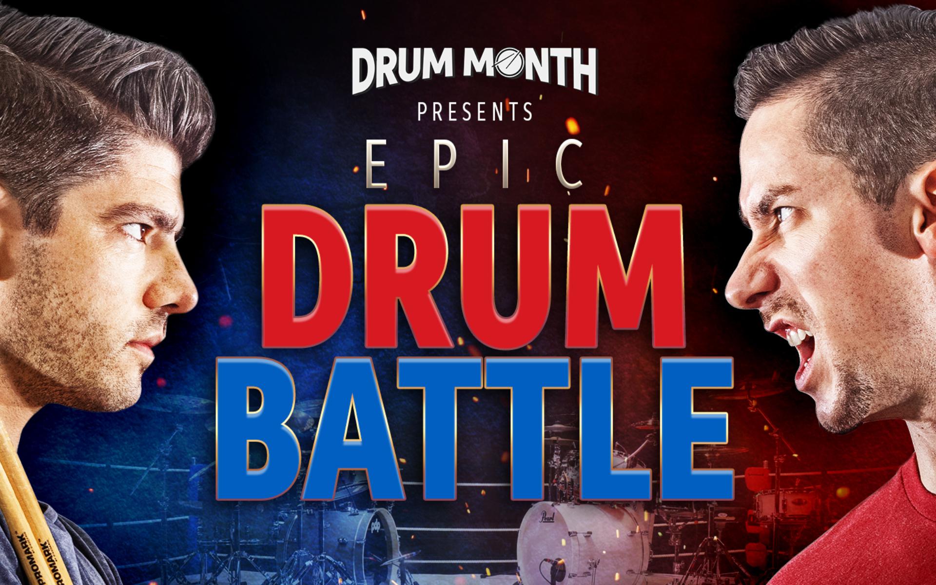 Casey Cooper and Cobus Epic Drum Battle