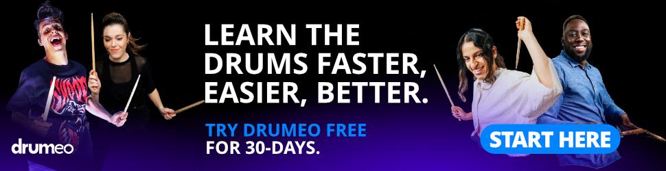 Drumeo Banner Desktop